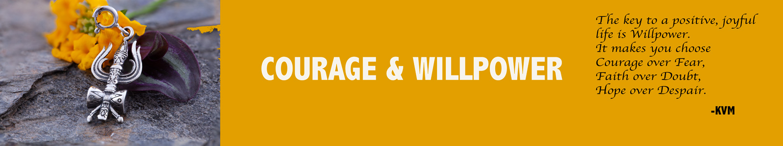 Courage and Willpower