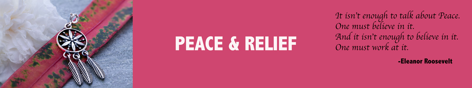 Peace and Relief