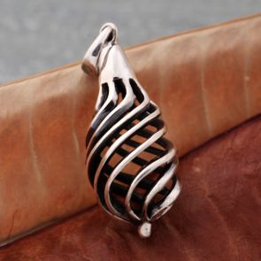 Double Helix Drop Pendant