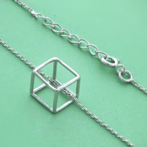 Hexahedron Necklace
