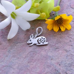 Rabbit Chinese Zodiac Pendant