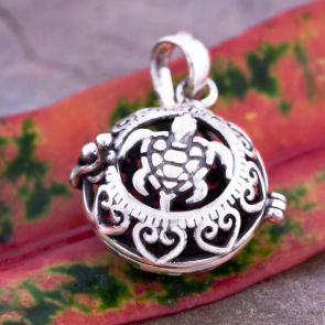 Turtle Magic Small Pendant
