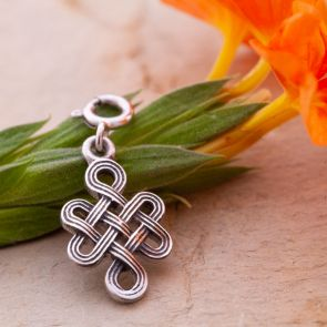 Endless Knot Charm