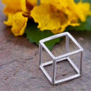 Hexahedron Large Pendants