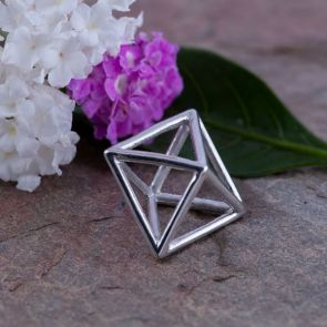 Octahedron Large Pendants