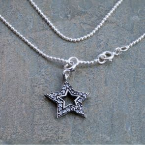 Star Ball Chain Anklet